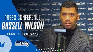 Russell Wilson Week 7 Postgame 2020 Press Conference at Cardinals