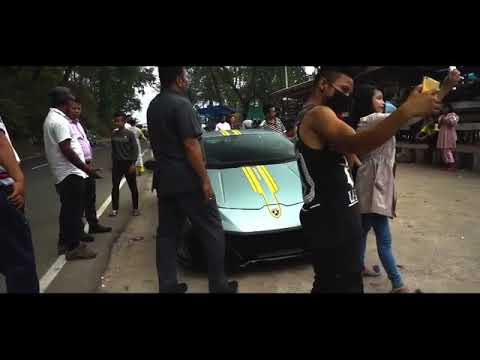 Lamborghini In Shillong Meghalaya Youtube