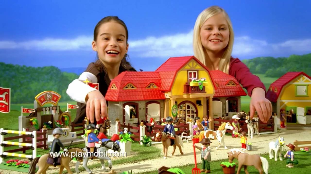 le haras playmobil country youtube. Black Bedroom Furniture Sets. Home Design Ideas