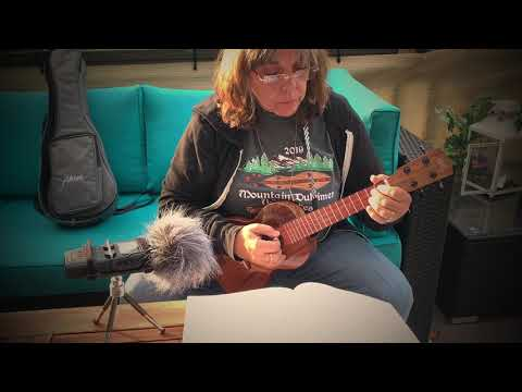 Rondeau played on ukulele