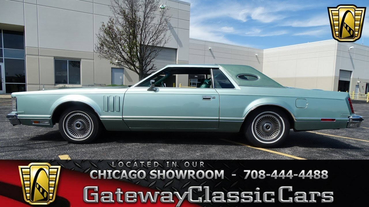 #1428 1978 Lincoln Mark V - Gateway Classic Cars Chicago