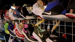 Air Jordans sa Baguio Night Market