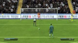 FIFA 14 PENALTY GAMEPLAY- SUPERB FINISH!!!