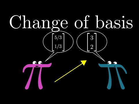 Change of basis  Essence of linear algebra, chapter 9