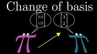 Verandering van de basis | kern van de lineaire algebra, hoofdstuk 13