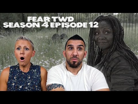 Fear the Walking Dead Season 4 Episode 12 'Weak' REACTION!!