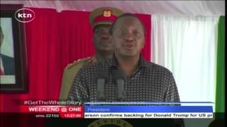 President Kenyatta asks county commissioners to ensure youth get IDs without being harassed