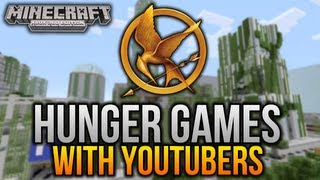 Minecraft (Xbox 360) - HUNGER GAMES - w/ Other YouTubers! - #1