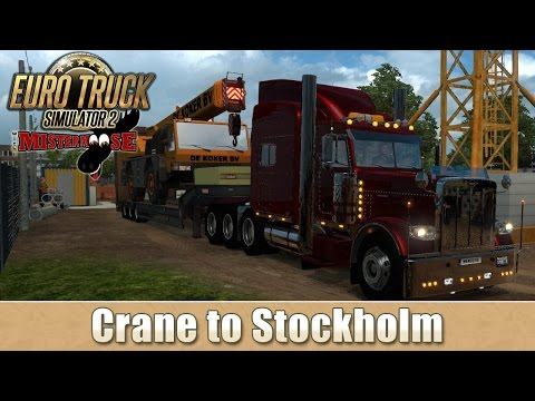 Euro Truck Simulator 2 - Crane, Finland to Stockholm
