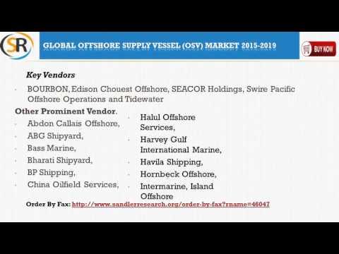 Global Offshore Supply Vessel OSV Market 2015 – 2019