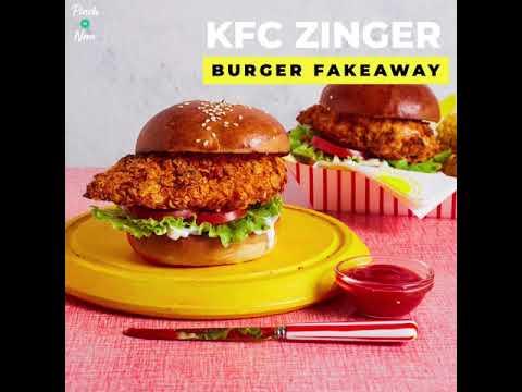 slimming zinger burger