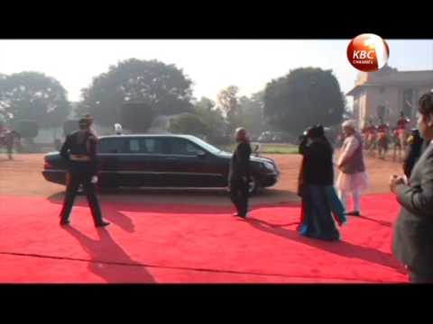 President Kenyatta, Indian PM Modi sign MoU on health