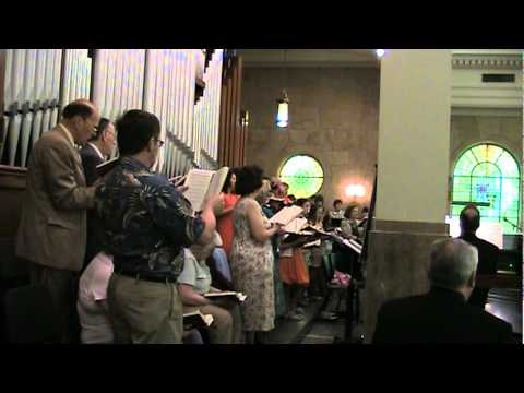 The Strife is O'er - Palestrina (Tune VICTORY)