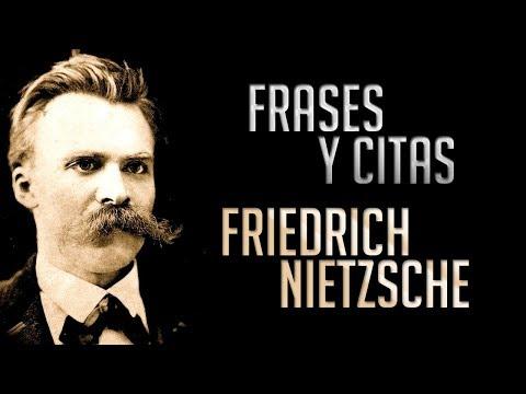 FRASES Y CITAS: Nietzsche (Friedrich Wilhelm Nietzsche) - YouTube