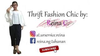 Thrift Fashion Chic- All about my channel