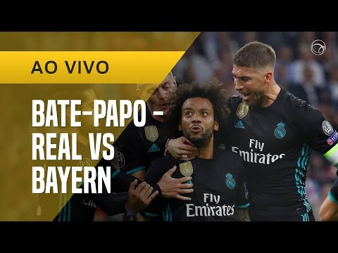 FIM DE JOGO: BAYERN DE MUNIQUE 1 X 2 REAL MADRID