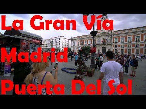La Gran Vía, Plaza de España, Puerta Del Sol - Madrid