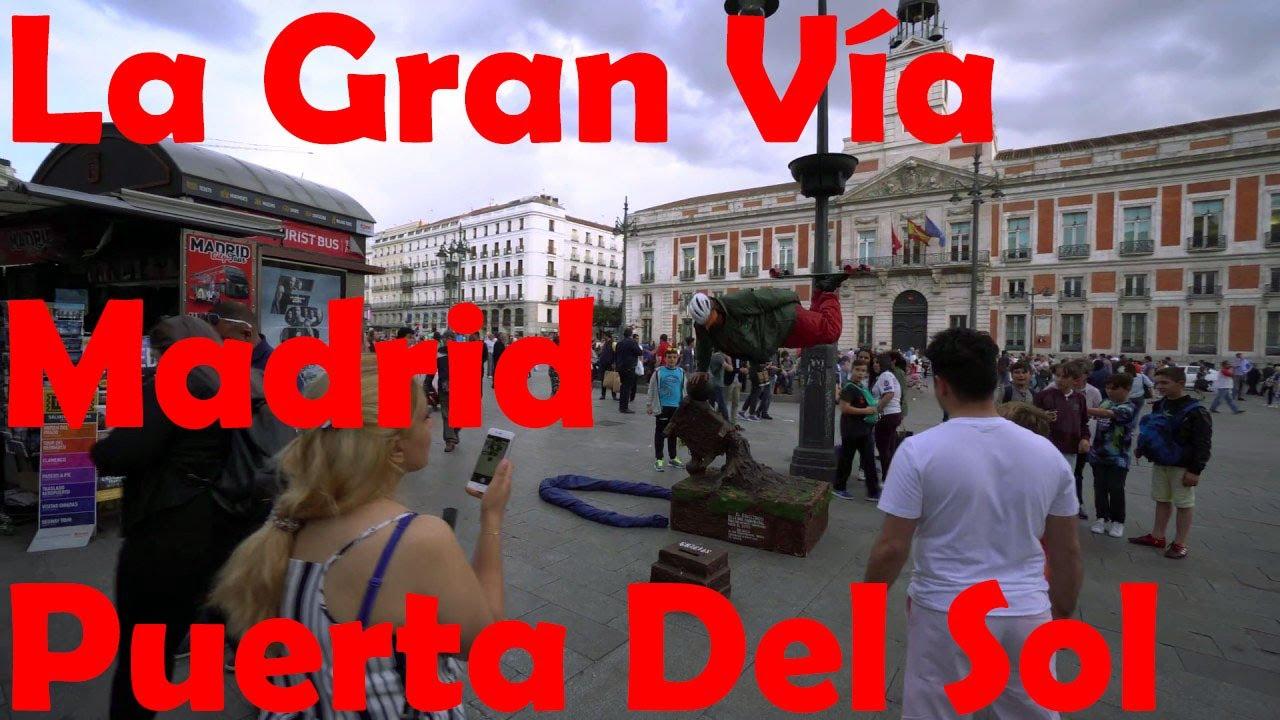 La gran v a plaza de espa a puerta del sol madrid for Gran via puerta del sol madrid