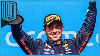 El mexicano finalizó tercero en el Gran Premio de Estados Unidos y con ello sube al cuarto puesto en el campeonato de pilotos