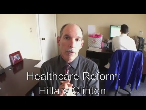 Healthcare Reform Statement of Hillary Clinton Read by a Doctor