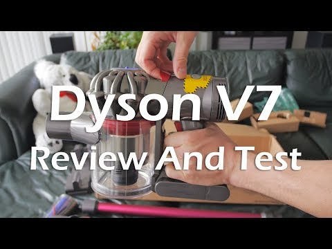 Dyson V7 (Refurbished) -  Review And Test.