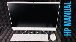 HP Pavilion All-in-One 24-f0009c, i3-8100T SETUP | Manual Guide | Getting Started