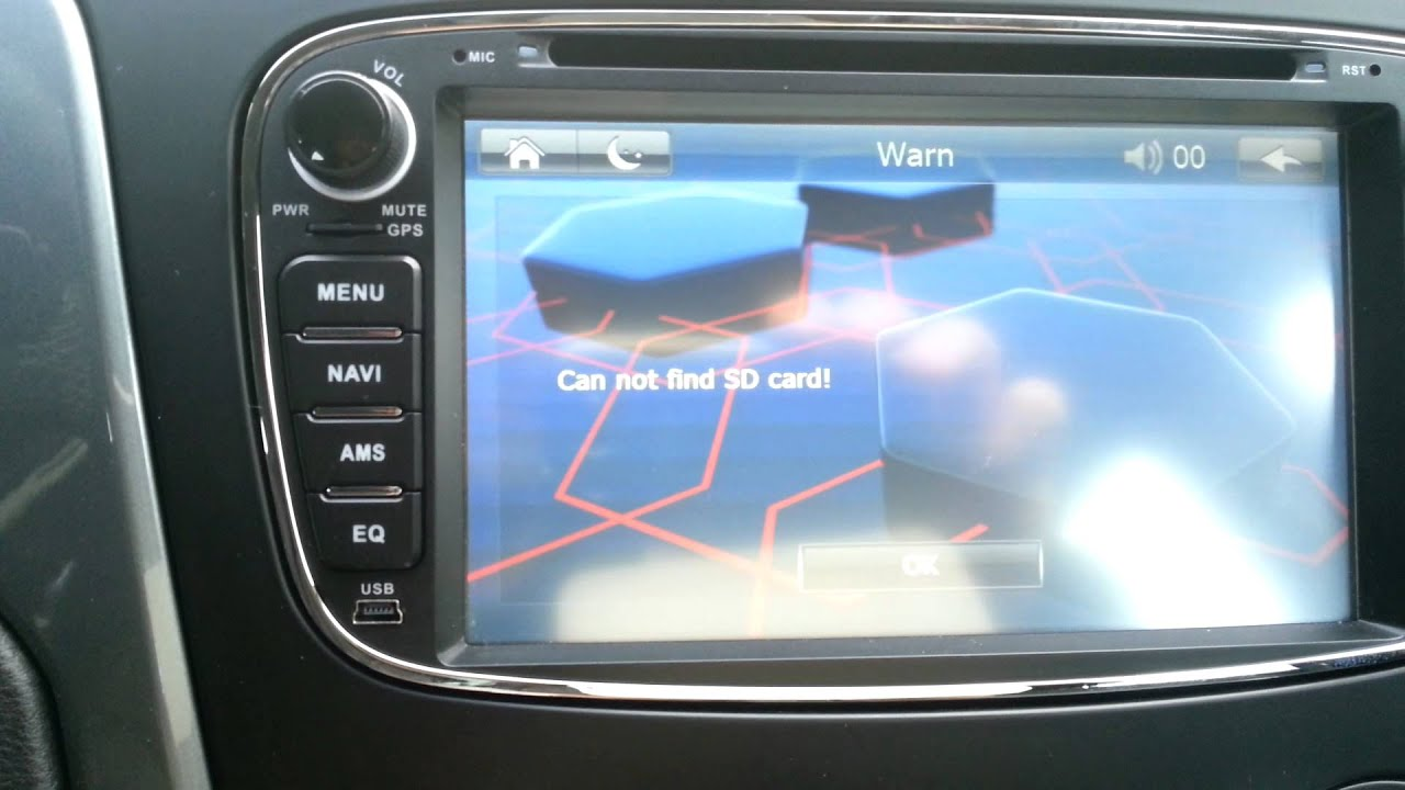 Ford Mondeo Aftermarket Navi Problems