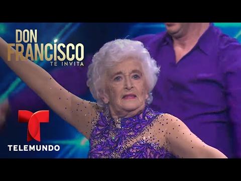 Gimansta de 82 años impresiona bailando salsa acrobática   Don Francisco Te Invita   Entretenimiento