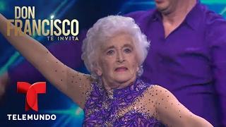 Gimansta de 82 años impresiona bailando salsa acrobática | Don Francisco Te Invita | Entretenimiento