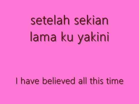 Terry - Kepingan Hati (lyrics).wmv