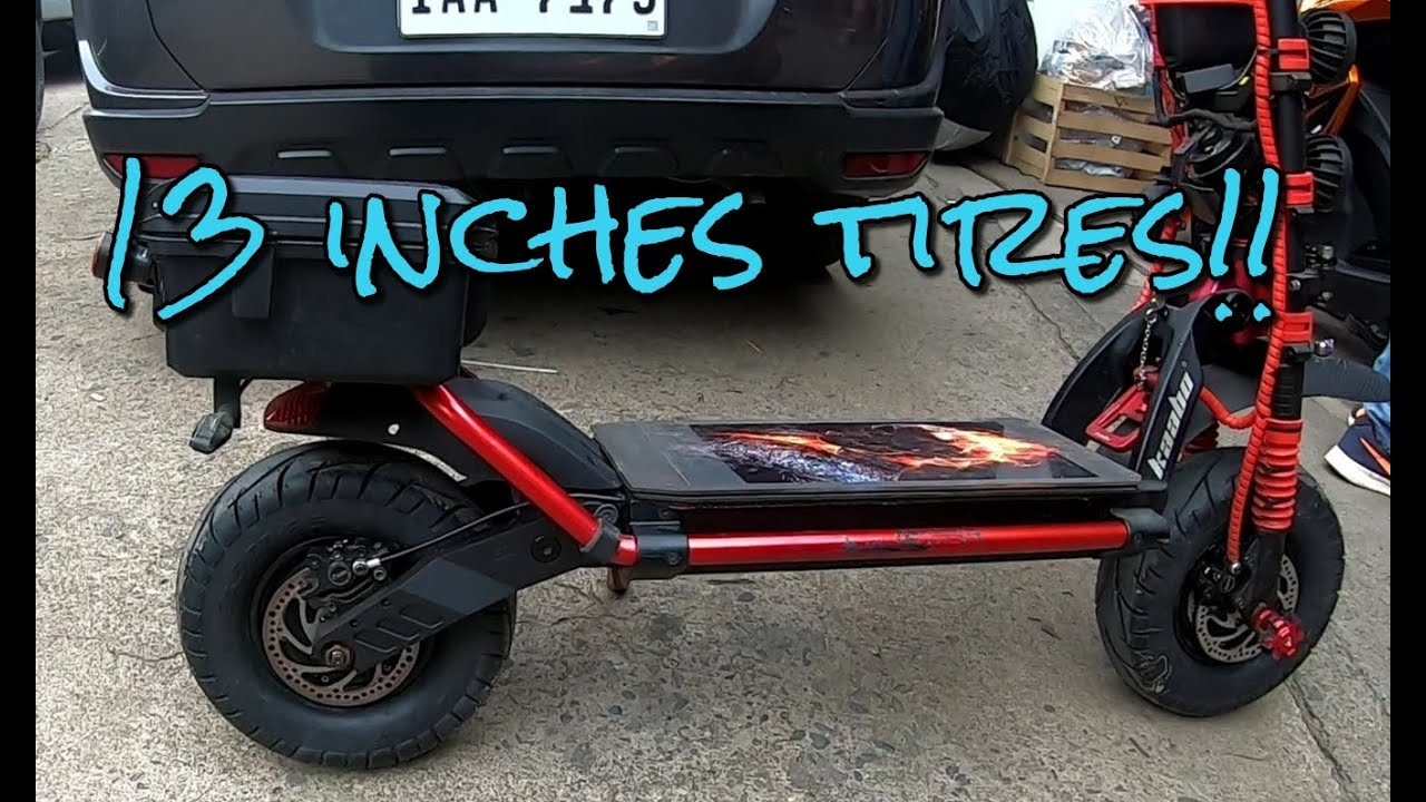 Download Installing 13 inches tires on KAABO WOLF WARRIOR 11+