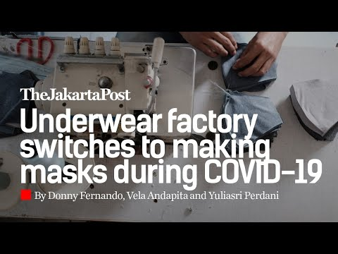 Underwear Factory Switches To Making Masks During Covid 19 Youtube