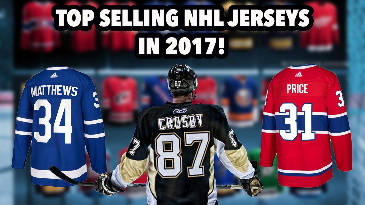 776a27a6ba3 Top selling NHL Jerseys in 2017! - YouTube