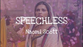 """Naomi Scott - Speechless (Lyrics) (From """"Aladdin"""" 2019)"""