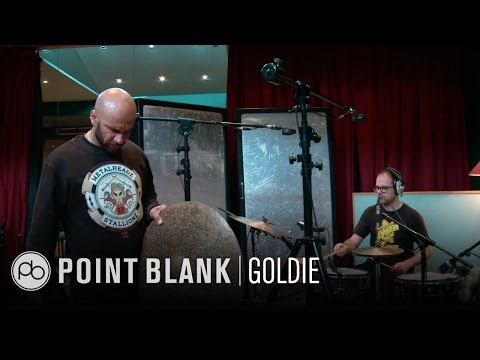 Goldie: Recording Drums with Point Blank Students