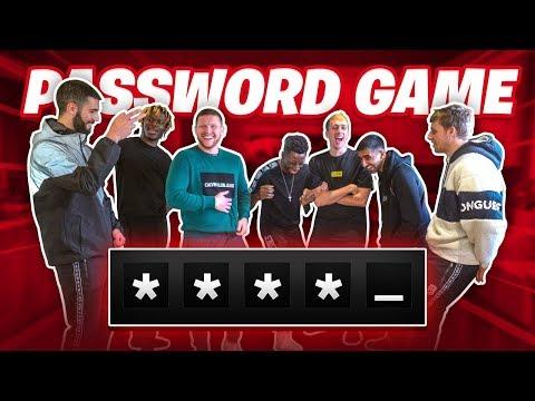 SIDEMEN PASSWORD GAME