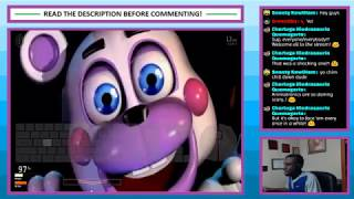 Livestream #46 - Ultimate Custom Night - Part 7 - Even More 50/20 Mode Attempts!