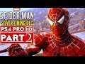 SPIDER-MAN PS4 Silver Lining DLC Gameplay Walkthrough Part 2  - No Commentary (SPIDERMAN PS4)
