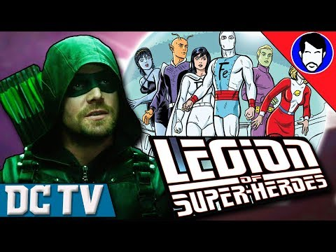 Arrow Season 6 Crossover - Could the Legion of Super-Heroes Show Up? | DCTV Recap