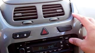Encontrar e inserir o código de desbloqueio do rádio chevrolet Cobalt