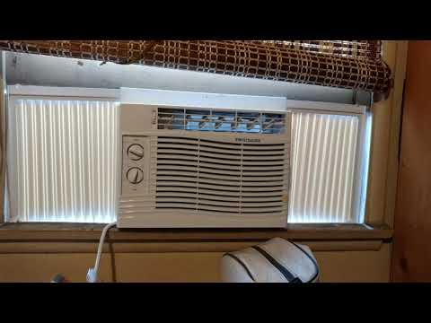 Frigidaire FFRA0511R1E 5000 BTU 115V Window-Mounted Mini-Compact Air Conditioner Review