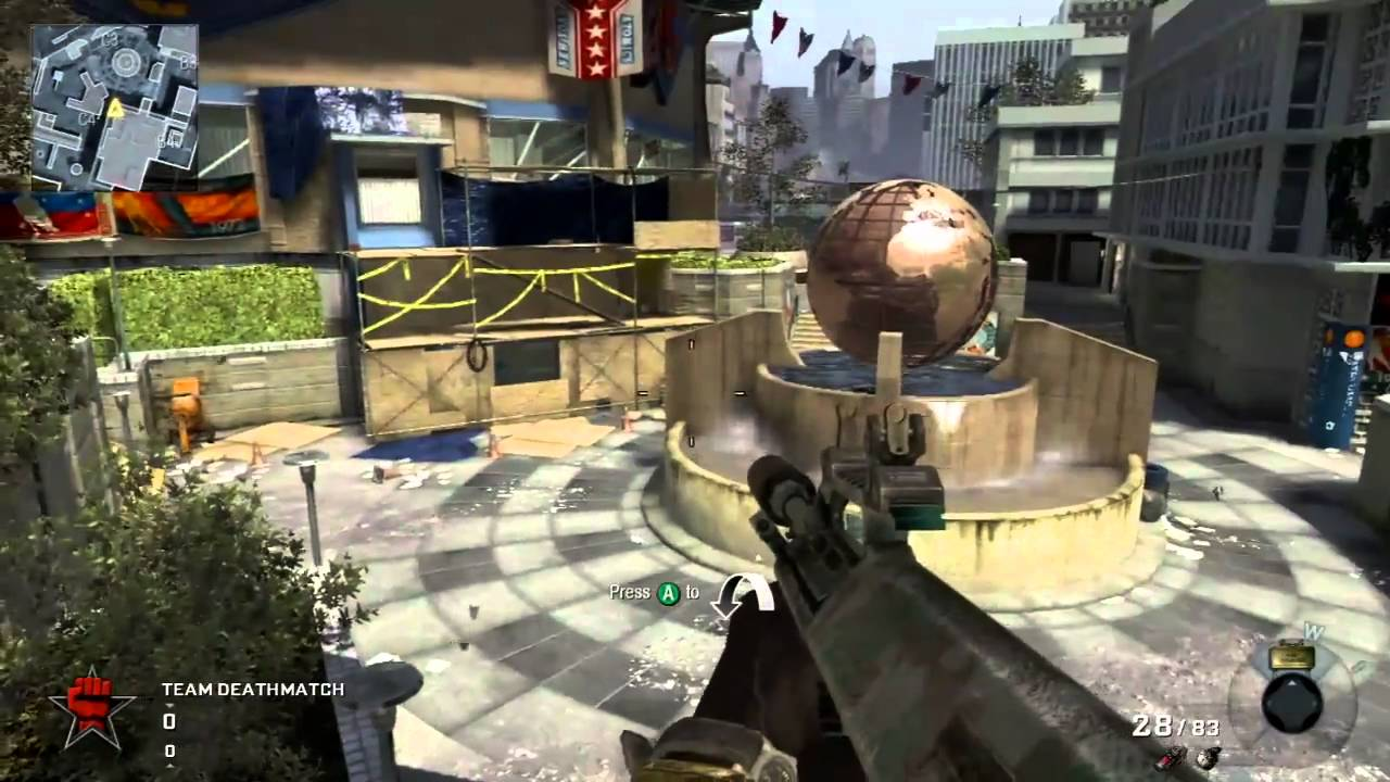 COD Black Ops - First Strike Map Pack Preview of Stadium - YouTube on