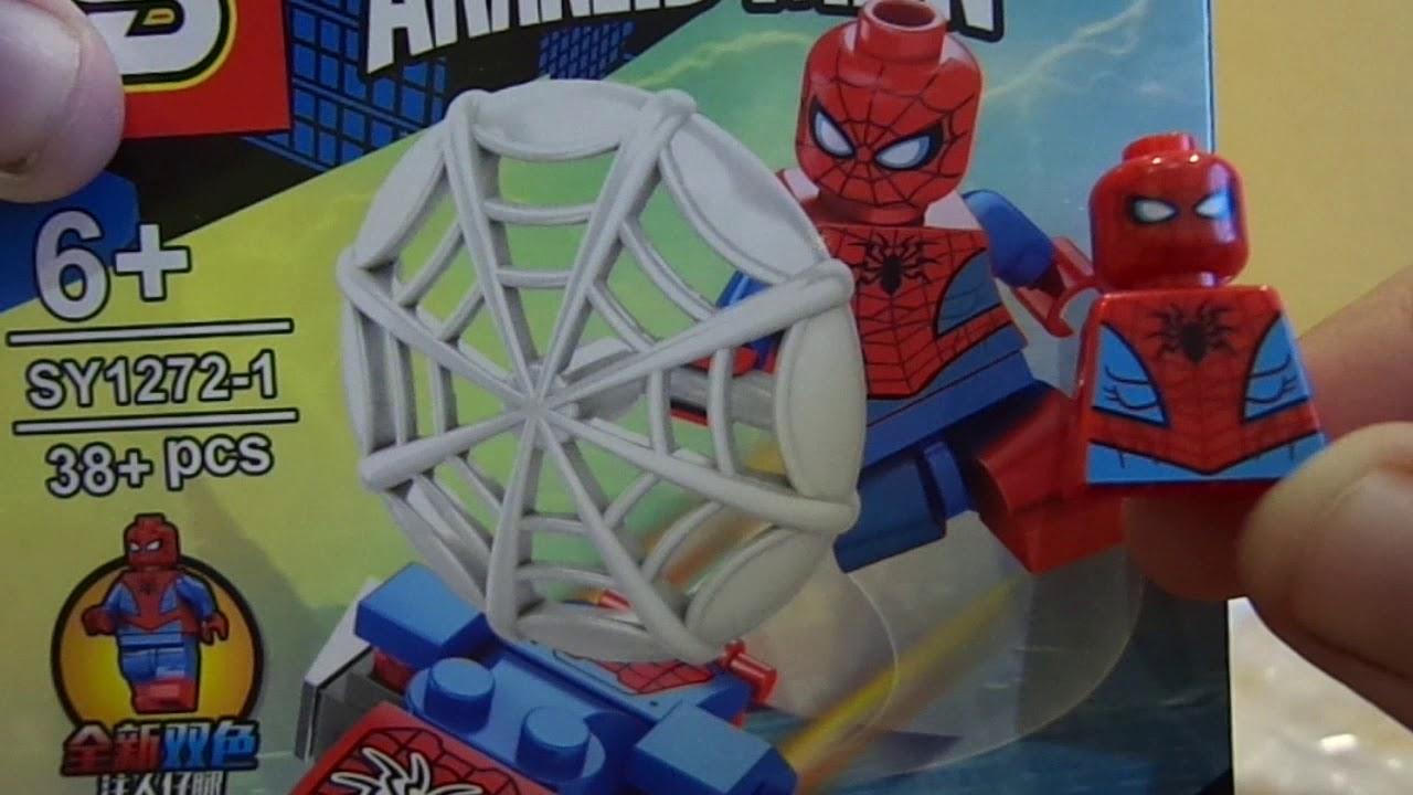 Лего обзор человек паук - YouTube