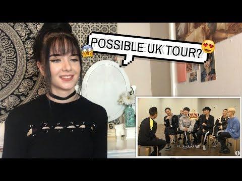 BBC RADIO 1 INTERVIEW BTS REACTION // ItsGeorginaOkay
