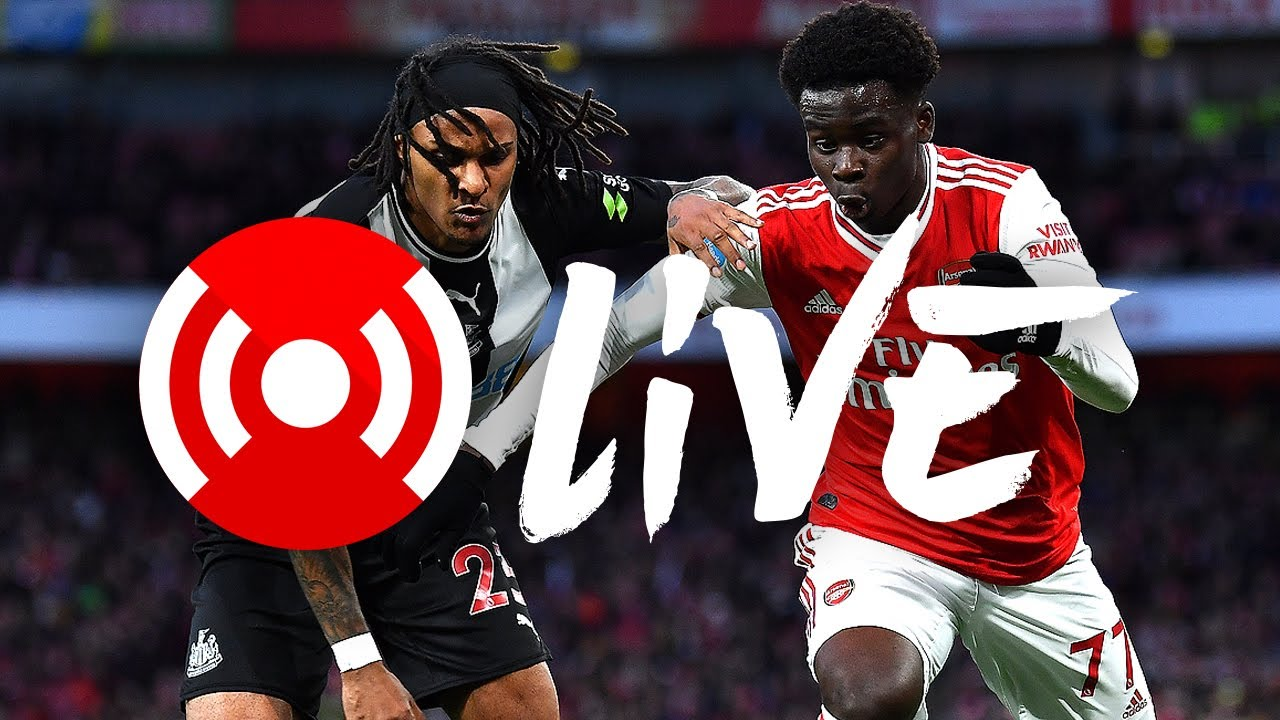 Arsenal 4 0 Newcastle United Arsenal Nation Live Youtube