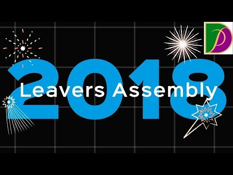 Ditcham Park's Leavers Assembly 2018