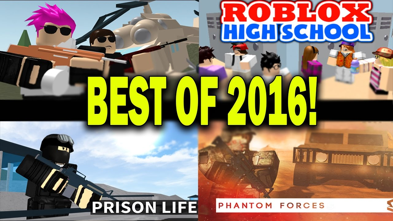 - Roblox Best Games Of 2016! Roblox Prison Break, Apocalypse Rising And  More! 24 Hour Stream Part 2