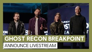 GHOST RECON BREAKPOINT Announce Livestream