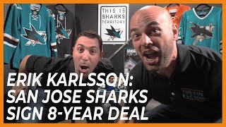 Erik Karlsson: San Jose Sharks Sign 8-Year Deal