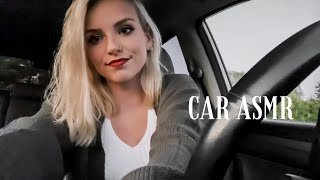 QUICK ASMR Tapping & Scratching In My Car + Camera Tapping (no talking)